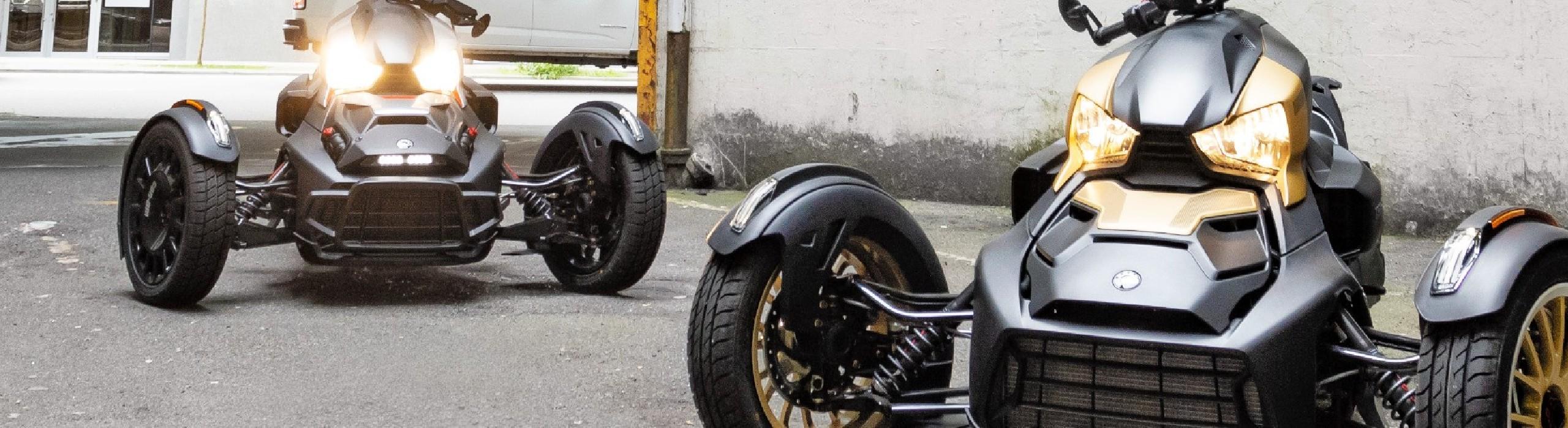 Can-Am RYKER EDITION RALLY - Moto 3 roues 2021 - Sas Chossade Busato Motoneiges et Quads (73 et 74)