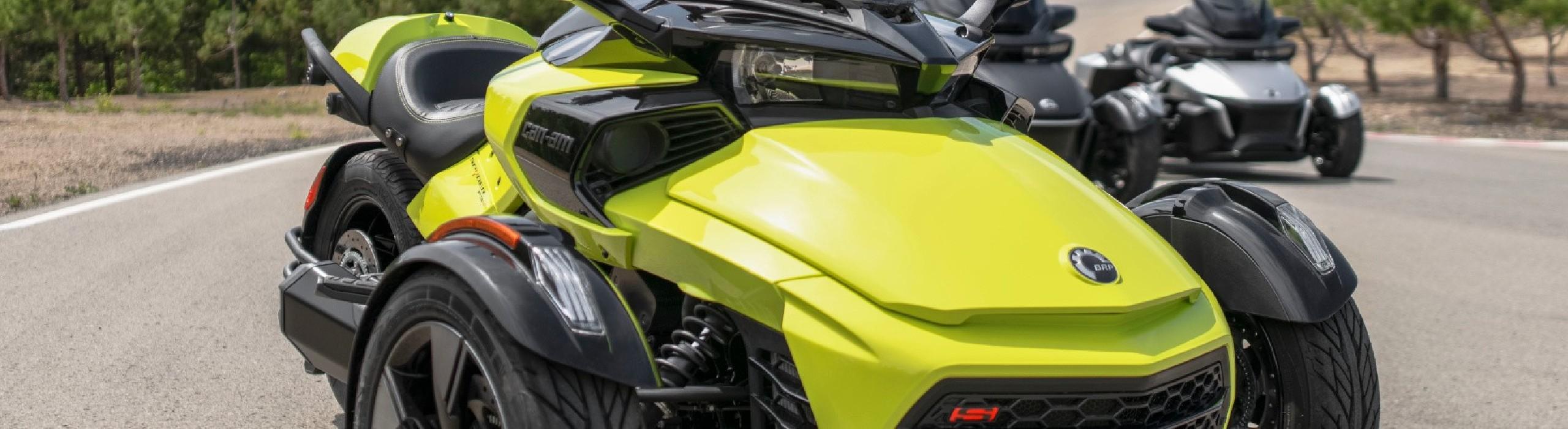 Can-Am SPYDER F3 et F3-S- Moto 3 roues 2020 - Sas Chossade Busato Motoneiges et Quads (73 et 74)