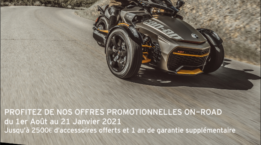 PROMOTIONS ON ROAD | Du 1er août au 21 janvier 2021
