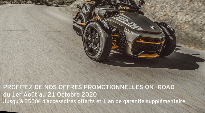 Promotions ON ROAD - Du 1er août au 21 octobre